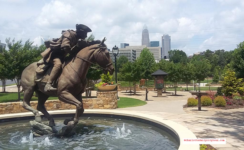 Captain Jack Statue - QCT Charlotte Daily City Tour