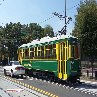 Charlotte Trolley - QCT Charlotte Daily City Tour